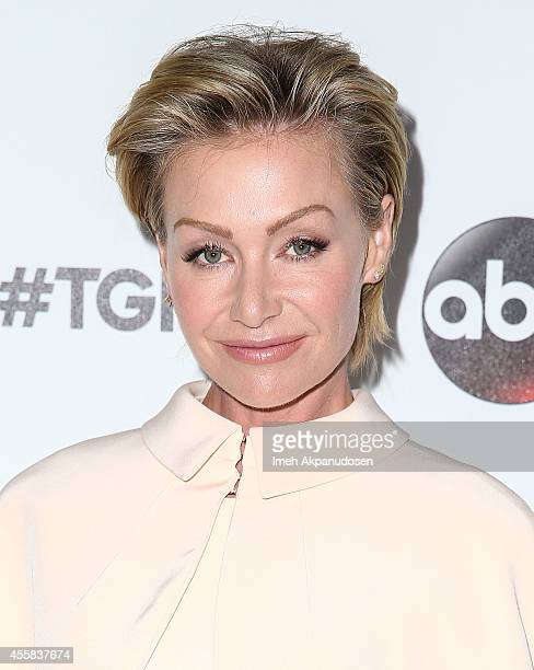Actress Portia de Rossi attends the TGIT Premiere event at Palihouse on September 20 2014 in West Hollywood California