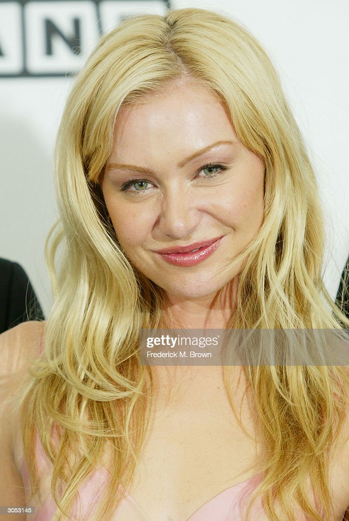 Actress Portia de Rossi poses backstage at the 2nd Annual TV Land Awards held on March 7, 2004 at The Hollywood Palladium, in Hollywood, California.