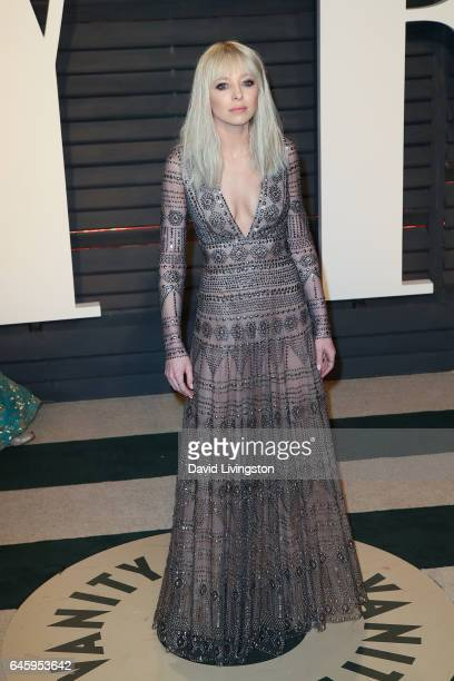 Actress Portia Doubleday attends the 2017 Vanity Fair Oscar Party hosted by Graydon Carter at the Wallis Annenberg Center for the Performing Arts on...