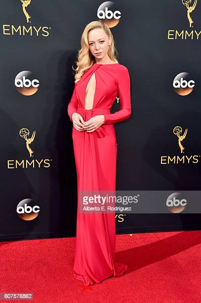 Actress Portia Doubleday attends the 68th Annual Primetime Emmy Awards at Microsoft Theater on September 18 2016 in Los Angeles California
