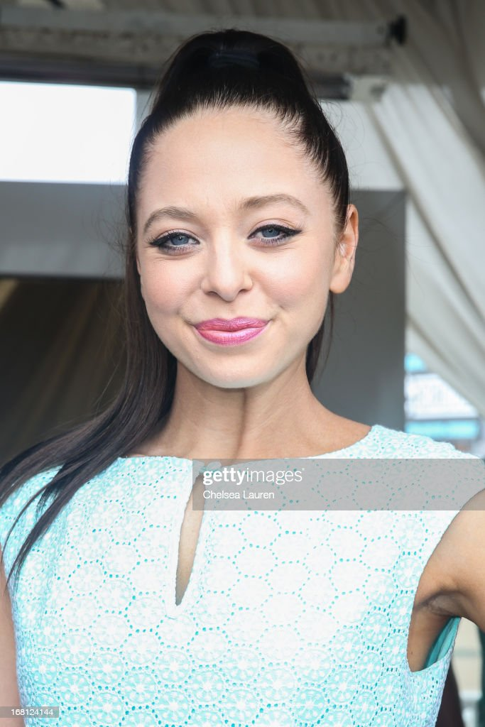 Actress Portia Doubleday attends the Original Penguin summer collection launch event at Drai's Hollywood on May 5, 2013 in Hollywood, California.