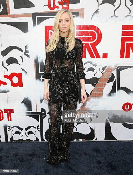 Actress Portia Doubleday attends USA Network's 'Mr Robot' For Your Consideration Event at Metrograph on June 6 2016 in New York City