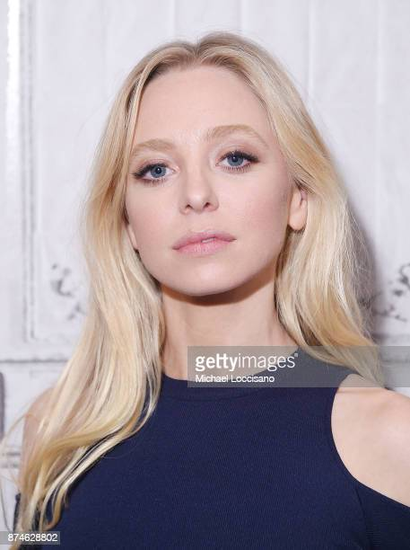 Actress Portia Doubleday visits Build Studio to discuss the show 'Mr Robot' on November 14 2017 in New York City