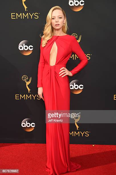 Actress Portia Doubledayv attends the 68th Annual Primetime Emmy Awards at Microsoft Theater on September 18 2016 in Los Angeles California