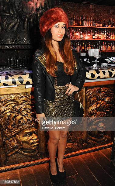 Actress Preeya Kalidas attends Official Royston's birthday party at Shaka Zulu on January 21 2013 in London England