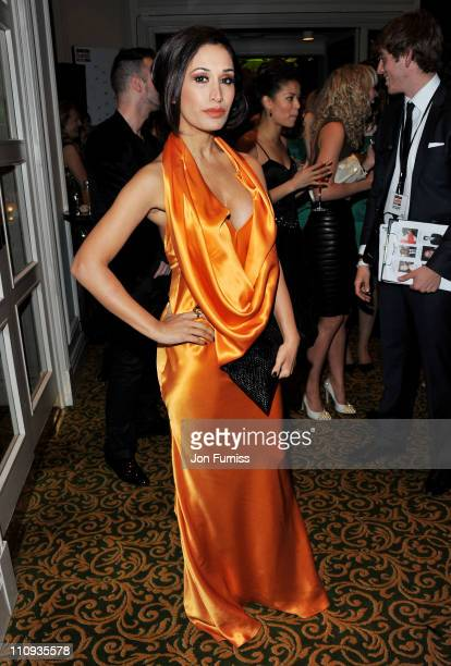 Actress Preeya Kalidas attends The Jameson Empire Awards 2011 at The Grosvenor House Hotel on March 27 2011 in London England