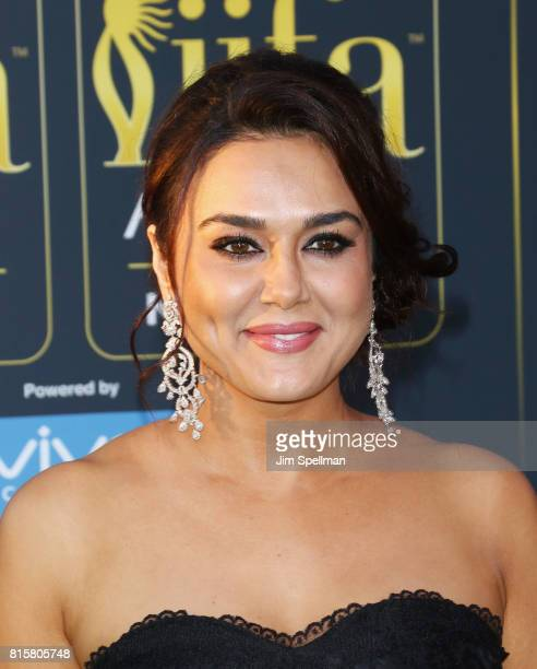 Actress Preity Zinta attends the 2017 International Indian Film Academy Festival at MetLife Stadium on July 14 2017 in East Rutherford New Jersey