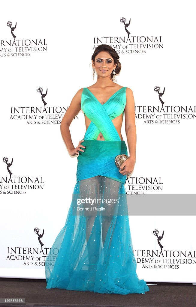 Actress Prerna Wanvari attends the 40th Annual International Emmy Awards at the Hilton New York on November 19, 2012 in New York City.