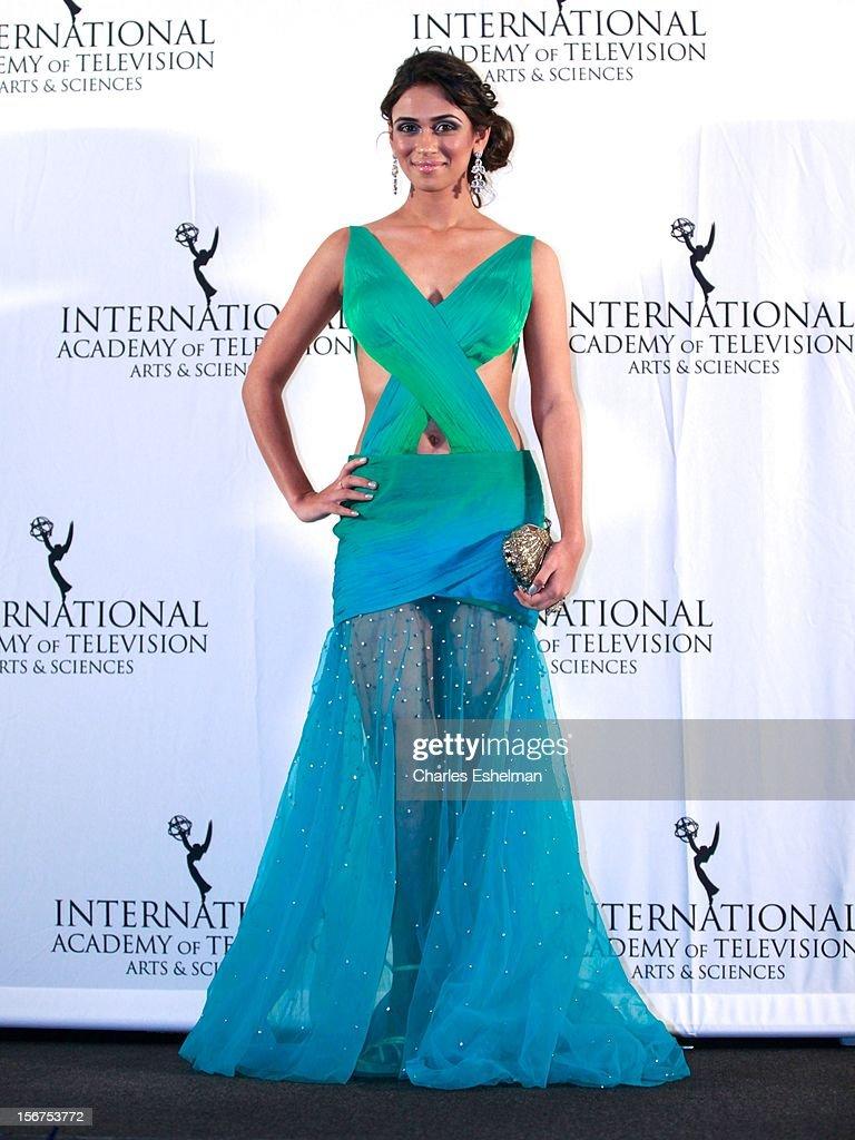 Actress Prerna Wanvari attends the 40th International Emmy Awards at Mercury Ballroom at the New York Hilton on November 19, 2012 in New York City.