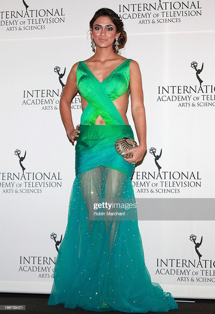Actress Prerna Wanvari attends the 40th International Emmy Awards on November 19, 2012 in New York City.