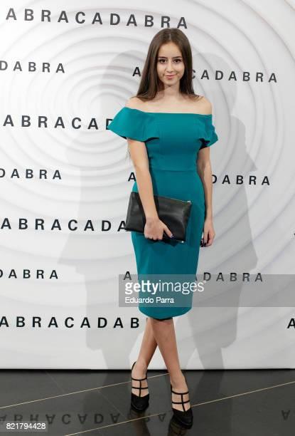 Actress Priscila Delgado attends the 'Abracadabra' premiere at Palacio de la Prensa cinema on July 24 2017 in Madrid Spain