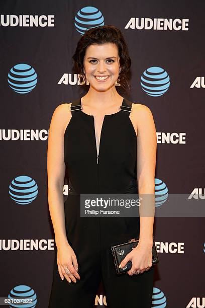 Actress Priscilla Faia attends ATT AUDIENCE Network Presents at 2017 Winter TCA at Langham Hotel on January 5 2017 in Pasadena California