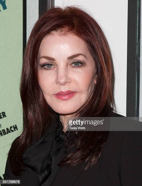 Actress Priscilla Presley attends the opening night of 'I Only Have Eyes For You' at The Ricardo Montalban Theatre on May 13 2016 in Hollywood...