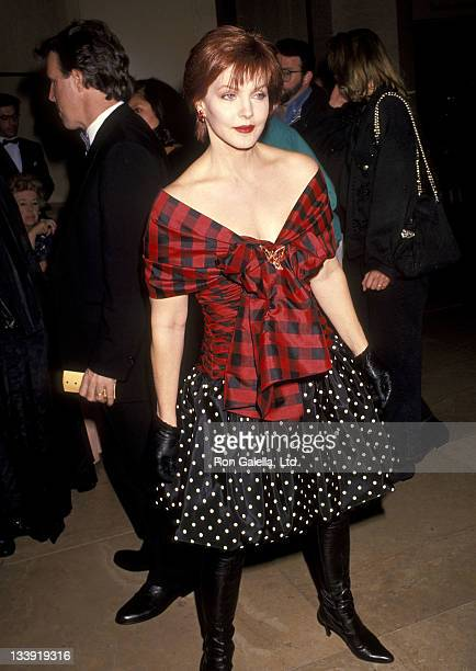 Actress Priscilla Presley attends the Second Annual Fire Ice Ball to Benefit the Revlon/UCLA Women's Cancer Research Program on December 4 1991 at...