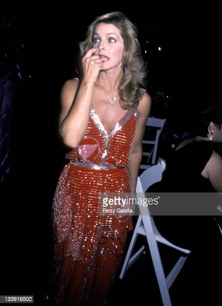 Actress Priscilla Presley attends the Seventh Annual Carousel Ball to Benefit the Barbara Davis Center for Childhood Diabetes on October 13 1984 at...