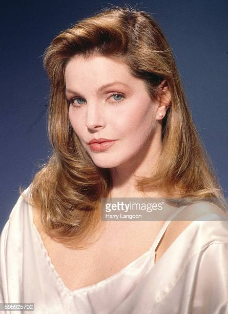 Actress Priscilla Presley poses for a portrait in 1980 in Los Angeles California