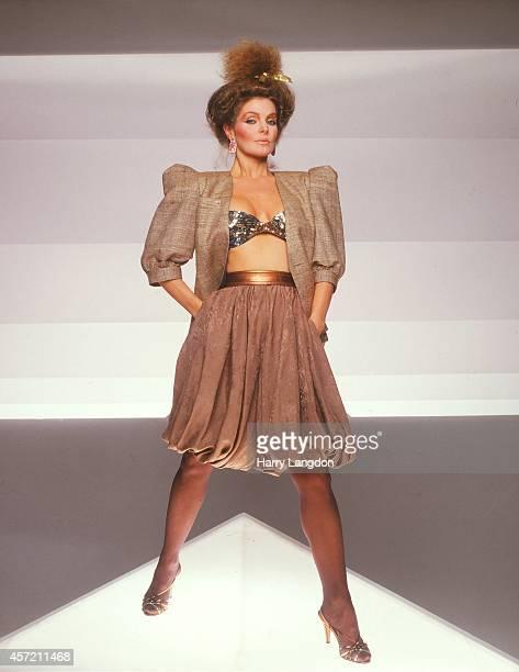 Actress Priscillla Presley poses for a portrait in 1981 in Los Angeles California