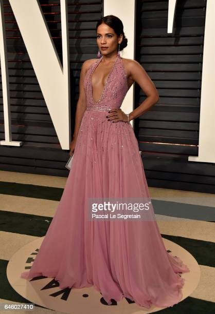 Actress Priyanka Bose attends the 2017 Vanity Fair Oscar Party hosted by Graydon Carter at Wallis Annenberg Center for the Performing Arts on...