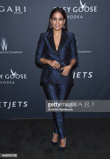 Actress Priyanka Bose attends The Weinstein Company's PreOscar Dinner in partnership with Bvlgari and Grey Goose at Montage Beverly Hills on February...