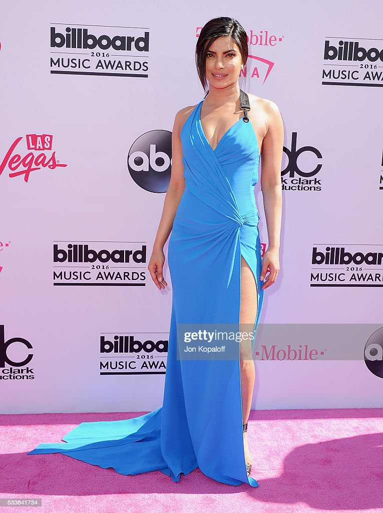 Actress <a gi-track='captionPersonalityLinkClicked' href=/galleries/search?phrase=Priyanka+Chopra&family=editorial&specificpeople=228954 ng-click='$event.stopPropagation()'>Priyanka Chopra</a> arrives at the 2016 Billboard Music Awards at T-Mobile Arena on May 22, 2016 in Las Vegas, Nevada.