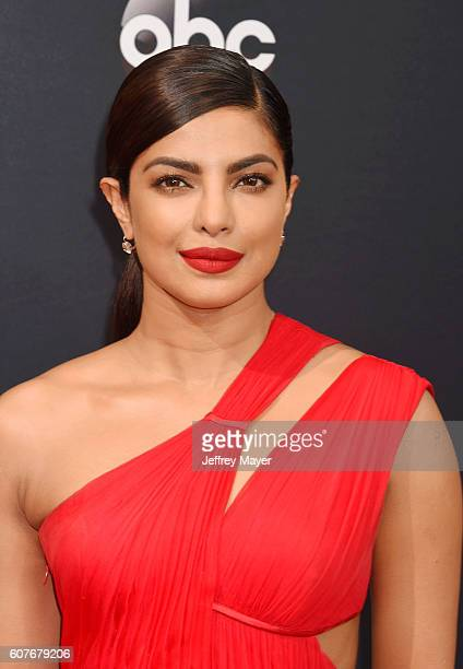 Actress Priyanka Chopra arrives at the 68th Annual Primetime Emmy Awards at Microsoft Theater on September 18 2016 in Los Angeles California