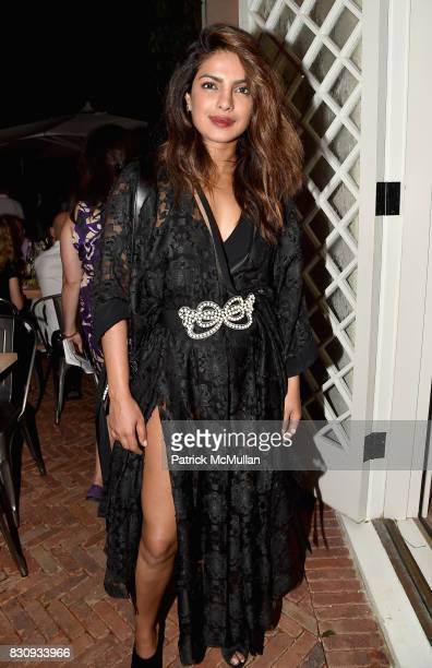 Actress Priyanka Chopra attends Apollo in the Hamptons at The Creeks on August 12 2017 in East Hampton New York