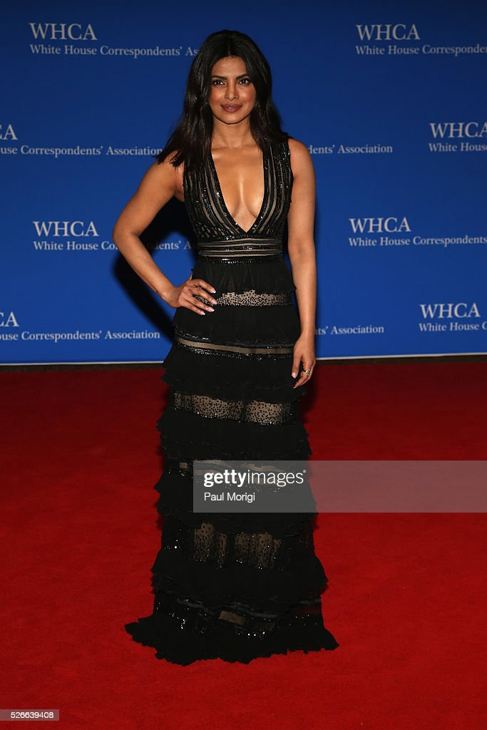 Actress Priyanka Chopra attends the 102nd White House Correspondents' Association Dinner on April 30, 2016 in Washington, DC.