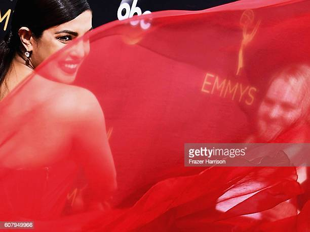 Actress Priyanka Chopra attends the 68th Annual Primetime Emmy Awards the at Microsoft Theater on September 18 2016 in Los Angeles California