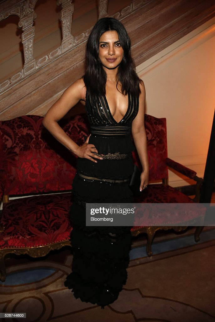Actress Priyanka Chopra attends the Bloomberg Vanity Fair White House Correspondents' Association (WHCA) dinner afterparty in Washington, D.C., U.S., on Saturday, April 30, 2016. The 102nd WHCA raises money for scholarships and honors the recipients of the organization's journalism awards. Photographer: Andrew Harrer/Bloomberg via Getty Images