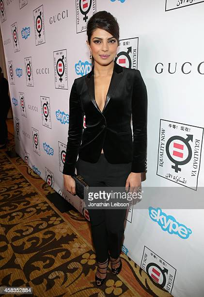 Actress Priyanka Chopra attends The Equality Now's 'Make Equality Reality' Event at Montage Beverly Hills on November 3 2014 in Beverly Hills...