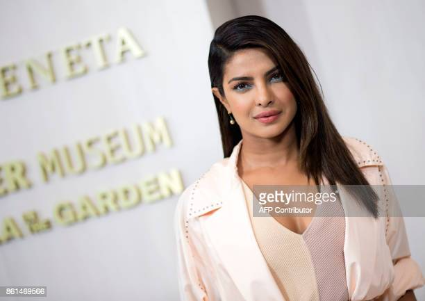 Actress Priyanka Chopra attends the Hammer Museum Gala in the Garden honoring Ava Duvernay and Hilton Als sponsored by Bottega Veneta on October 14...