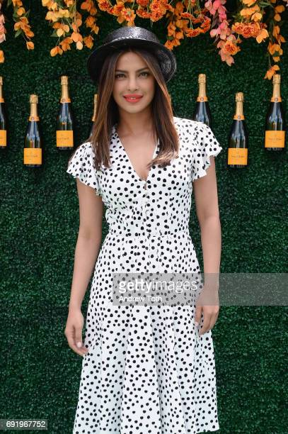 Actress Priyanka Chopra attends The Tenth Annual Veuve Clicquot Polo Classic at Liberty State Park on June 3 2017 in Jersey City New Jersey