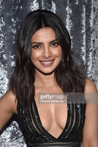 Actress Priyanka Chopra attends the Yahoo News/ABC News White House Correspondents' Dinner PreParty at Washington Hilton on April 30 2016 in...