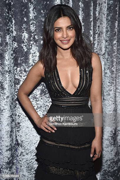 Actress Priyanka Chopra attends the Yahoo News/ABC News White House Correspondents' Dinner PreParty at Washington Hilton on April 30 2016 in...