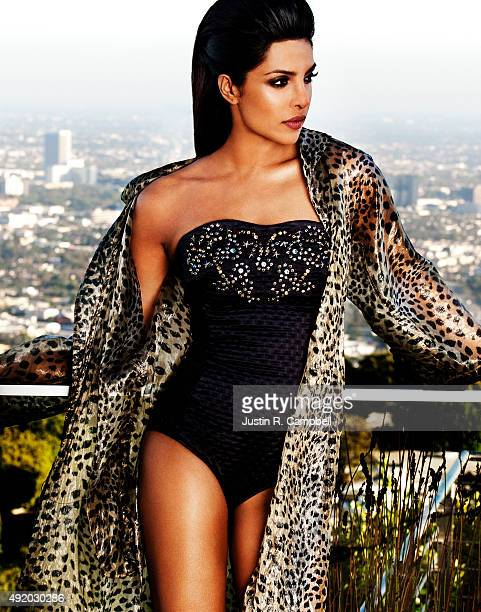 Actress Priyanka Chopra is photographed for Just Jared on October 1 2013 in Los Angeles California