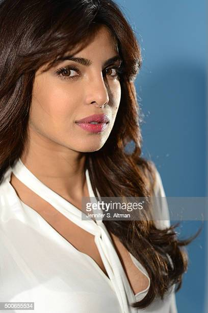 Actress Priyanka Chopra is photographed for Los Angeles Times on September 25 2015 in New York City
