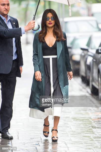 Actress Priyanka Chopra is seen in Chelsea on May 22 2017 in New York City