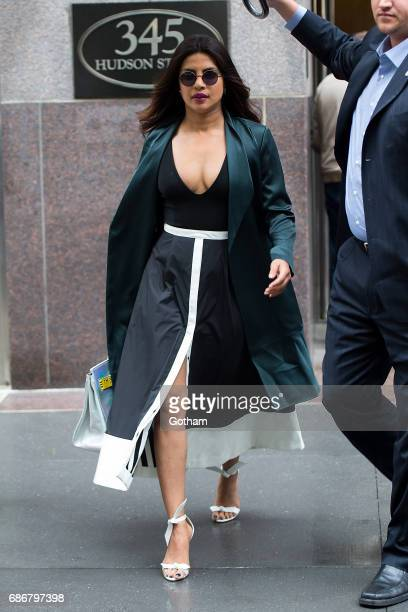 Actress Priyanka Chopra is seen in the West Village on May 22 2017 in New York City