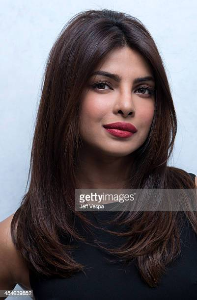 Actress Priyanka Chopra of 'Mary Kom' poses for a portrait during the 2014 Toronto International Film Festival on September 4 2014 in Toronto Ontario