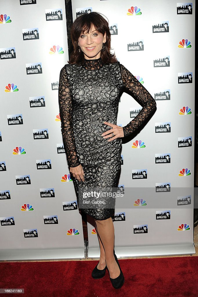 Actress, producer and author <a gi-track='captionPersonalityLinkClicked' href=/galleries/search?phrase=Marilu+Henner&family=editorial&specificpeople=213140 ng-click='$event.stopPropagation()'>Marilu Henner</a> attends 'The Celebrity Apprentice All-Stars' Red Carpet at Trump Tower on May 7, 2013 in New York City.