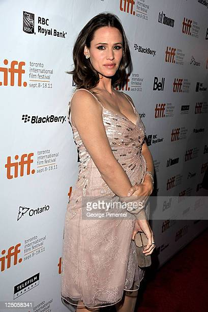 Actress/ producer Jennifer Garner arrives at 'Butter' Premiere at Roy Thomson Hall during the 2011 Toronto International Film Festival on September...