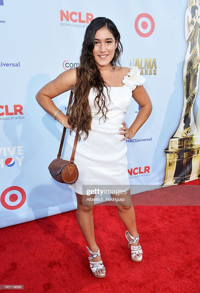 Actress Q'orianka Kilcher arrives at the 2012 NCLR ALMA Awards at Pasadena Civic Auditorium on September 16, 2012 in Pasadena, California.