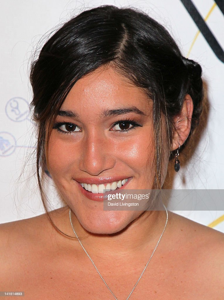 Actress Q'orianka Kilcherl attends the 3rd annual Unstoppable Gala at the Millennium Biltmore Hotel on March 17, 2012 in Los Angeles, California.