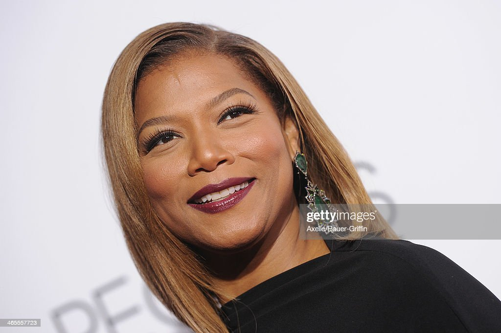 Actress Queen Latifah arrives at The 40th Annual People's Choice Awards at Nokia Theatre L.A. Live on January 8, 2014 in Los Angeles, California.