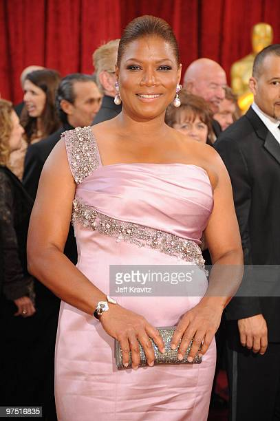 Actress Queen Latifah arrives at the 82nd Annual Academy Awards held at the Kodak Theatre on March 7 2010 in Hollywood California