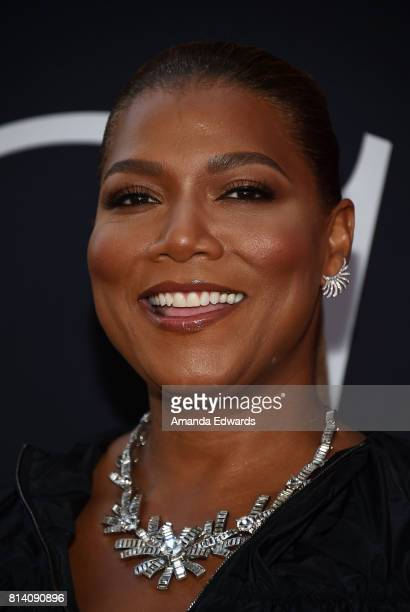 Actress Queen Latifah arrives at the premiere of Universal Pictures' 'Girls Trip' at the Regal LA Live Stadium 14 on July 13 2017 in Los Angeles...
