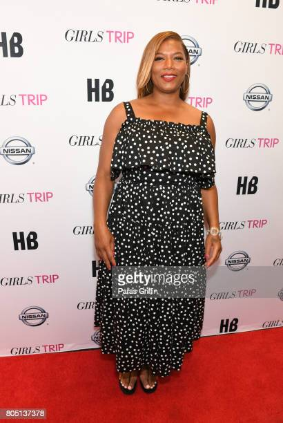 Actress Queen Latifah at 'Girls Trip' New Orleans screening at Theatres at Canal Place on June 30 2017 in New Orleans Louisiana