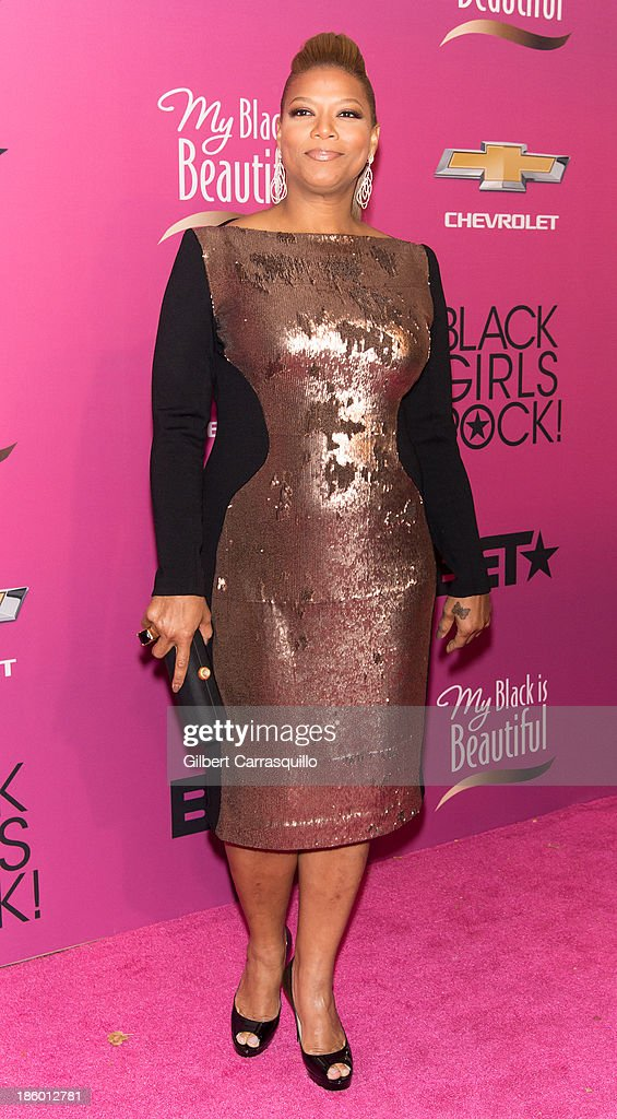 Actress <a gi-track='captionPersonalityLinkClicked' href=/galleries/search?phrase=Queen+Latifah&family=editorial&specificpeople=171793 ng-click='$event.stopPropagation()'>Queen Latifah</a> attends Black Girls Rock! 2013 at New Jersey Performing Arts Center on October 26, 2013 in Newark, New Jersey.