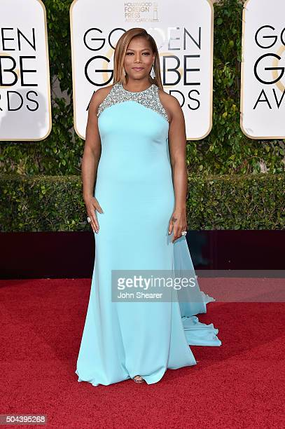 Actress Queen Latifah attends the 73rd Annual Golden Globe Awards held at the Beverly Hilton Hotel on January 10 2016 in Beverly Hills California