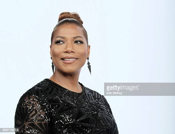 Actress Queen Latifah poses for a portraits at the 22st Annual Screen Actors Guild Awards for Los Angeles Times on January 30 2016 in Los Angeles...